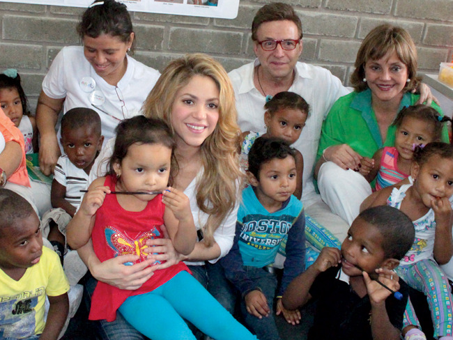 Shakira's charity