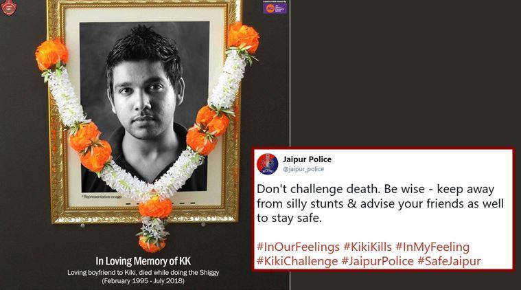 kiki challenge police