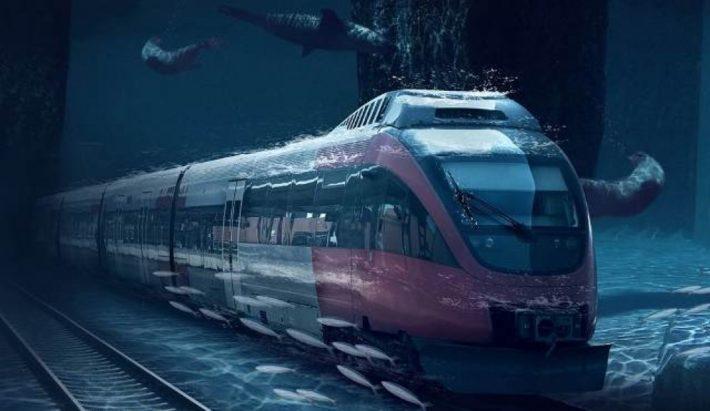 underwater rail from uar to mumbai